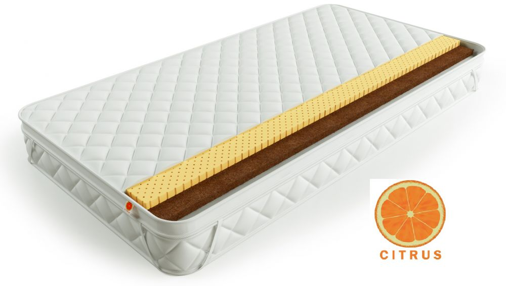 Наматрасник Citrus Кокос 3 Латекс 3